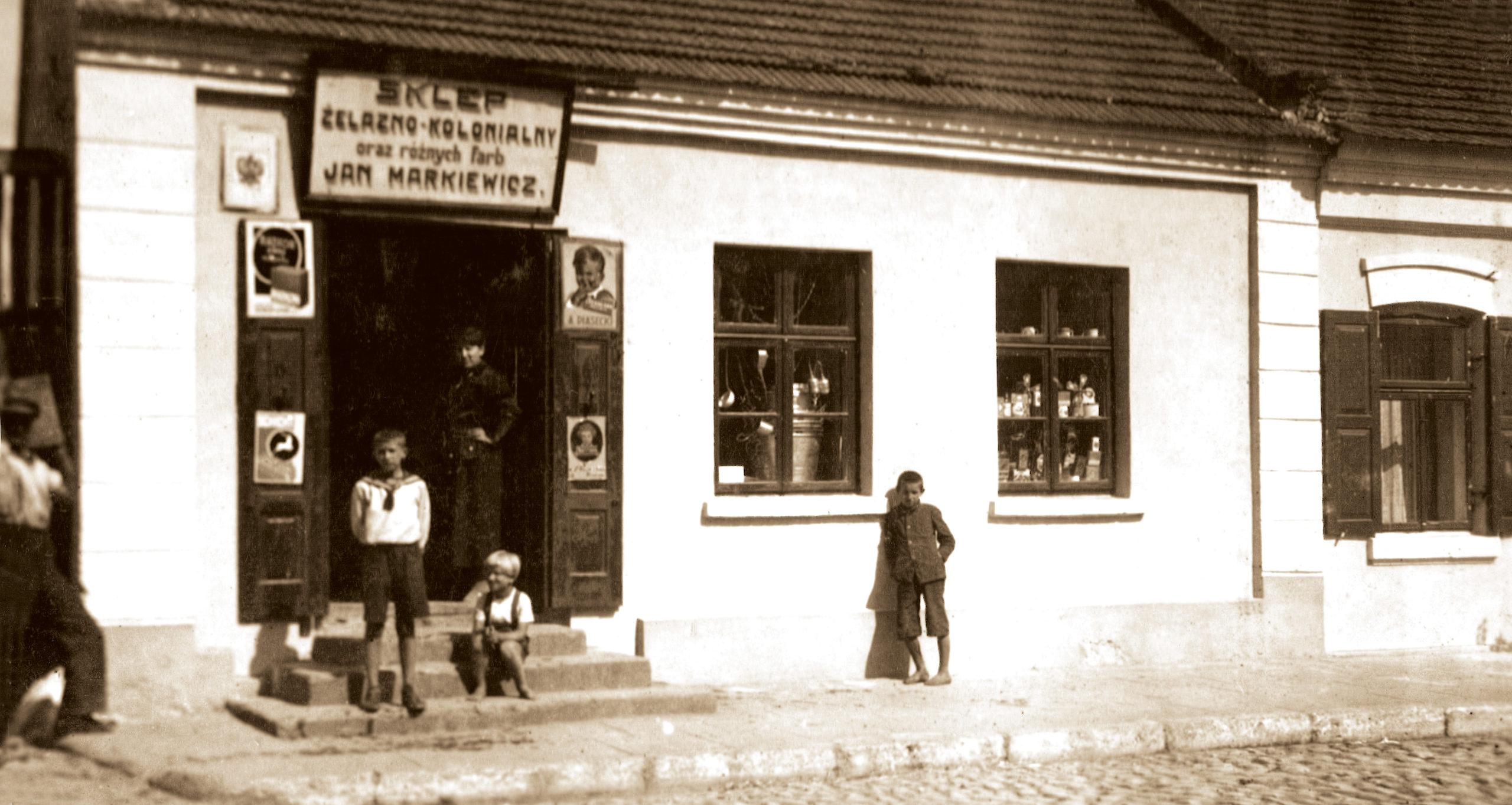 Dawny sklep kolonialny, ul. Kołłątaja, Kowal
